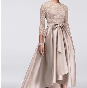 Dresses & Skirts - Gorgeous Lace & Satin Mother of Bride